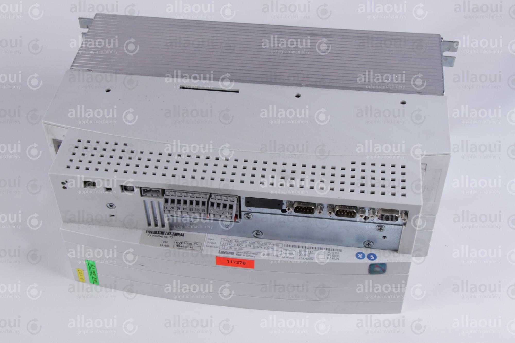 Lenze Frequency Converter EVF9325-EV